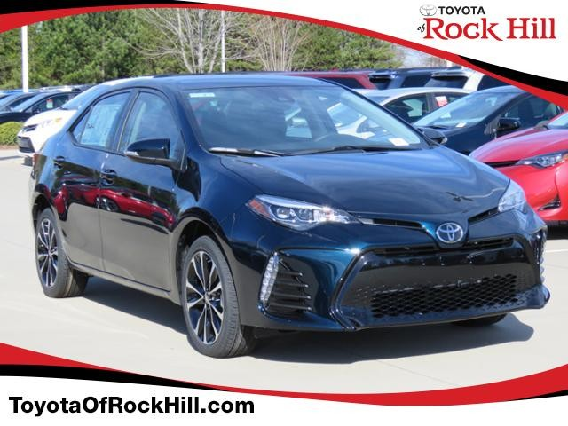New 2019 Toyota Corolla Se Cvt Sedan In Rock Hill Kc216573 Toyota
