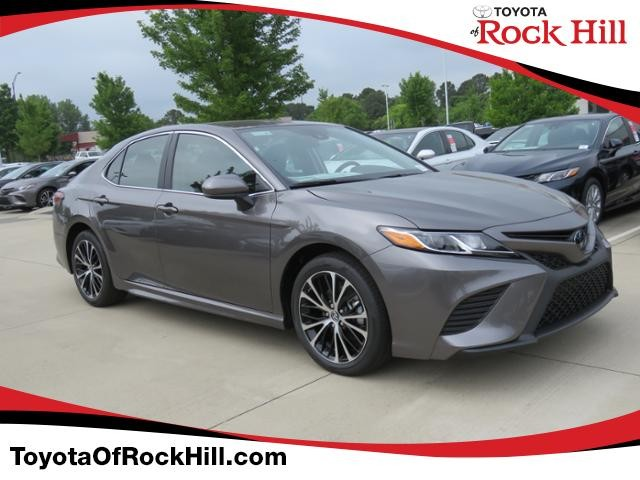 New 2019 Toyota Camry Se Auto Sedan In Rock Hill Ku788823 Toyota