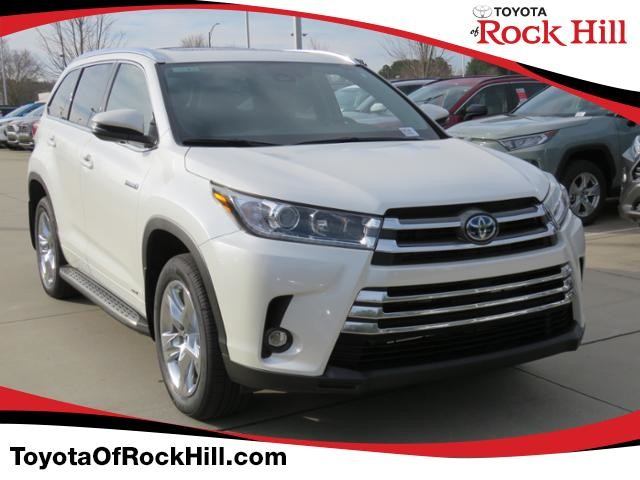 New 2019 Toyota Highlander Hybrid Limited V6 Awd Suv In Rock Hill