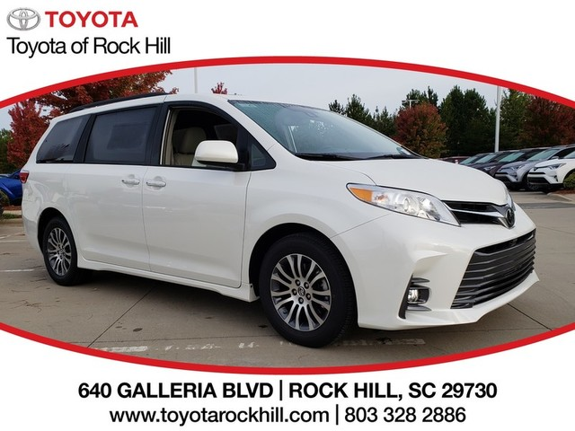 New 2019 Toyota Sienna Xle Fwd 8 Penger