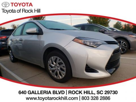Wonderful Certified Pre Owned 2017 Toyota Corolla LE Sedan In Rock Hill #HP723245 |  Toyota Of Rock Hill