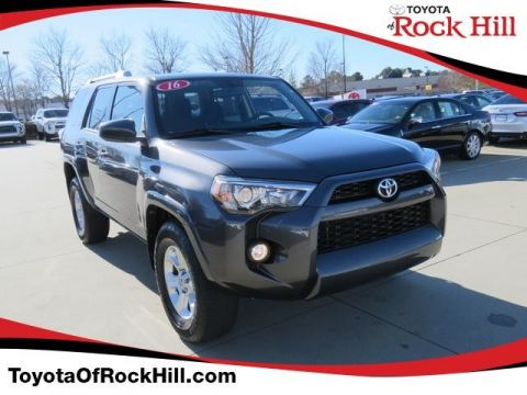 Certified Pre-Owned 2016 Toyota 4Runner SR5 Rear Wheel Drive SUV